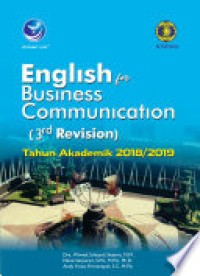 Image of ENGLISH FOR BUSINESS COMMUNICATION