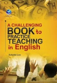 Image of A  CHALLENGING BOOK TO PRACTICE TEACHING IN ENGLISH