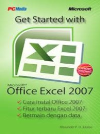 Image of get started with microsoft excel 2007