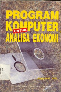 Image of Program Komputer Untuk Analisa Ekonomi